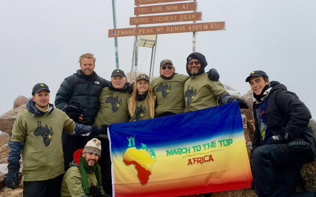 Mt. Kenya Summit – We Made It!!